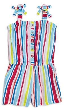 Design History Girls' Striped Romper - Little Kid