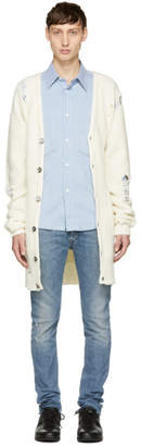 Diesel Off-White K-Blur Cardigan