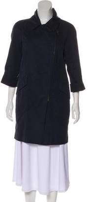 Brunello Cucinelli Short Asymmetrical Coat