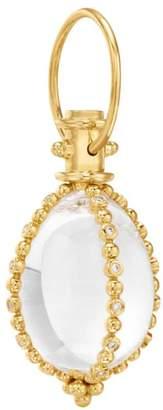 Temple St. Clair Celestial 18K Yellow Gold, Diamond & Crystal Sassini Amulet Pendant
