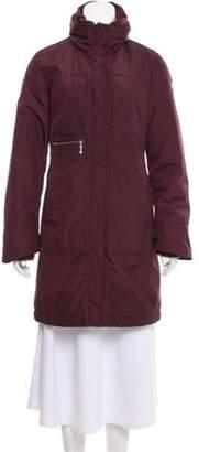 Post Card Knee-Length Puffer Coat Knee-Length Puffer Coat