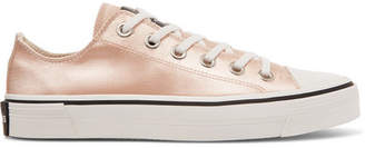 Marc Jacobs Satin Sneakers - Peach