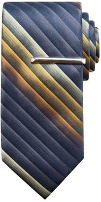 Apt. 9 Men's Print Tie & Tie Bar