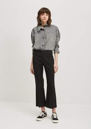 Isabel Marant Reeves Stretch Linen Trouser Black