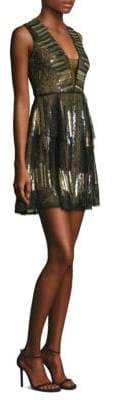 BCBGMAXAZRIA Fit-&-Flare Mini Dress