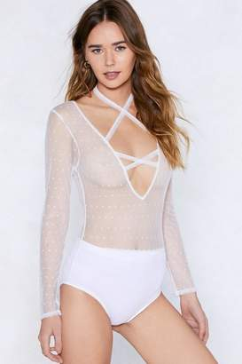 e3ccc30118 Nasty Gal We ll See About That Mesh Bodysuit