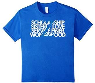 Zeta Z Phi 1920 - Principles Shirt Scholarship Sisterly Love