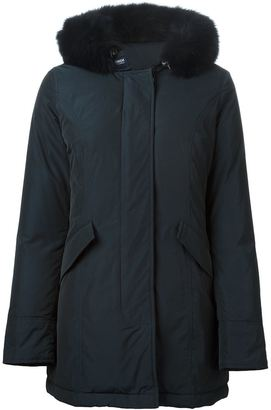 Woolrich hooded padded coat $827.85 thestylecure.com