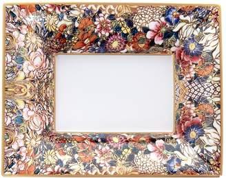 Roberto Cavalli Home Golden Flowers Tray (20cm x 16cm)