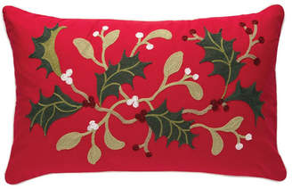 C&F Home C & F Home Holly Branch Chain Stitch Pillow Bedding