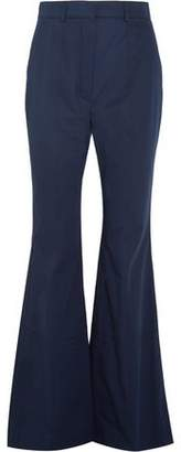 Sonia Rykiel Cotton-Twill Wide-Leg Pants