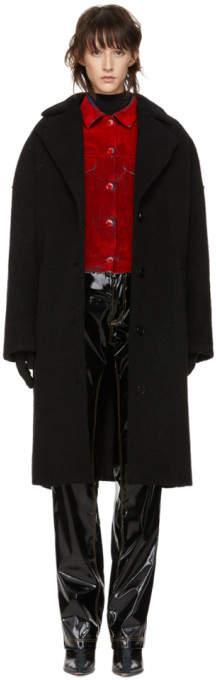 Black Cocoon Coat
