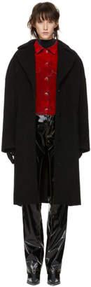 MM6 MAISON MARGIELA Black Cocoon Coat