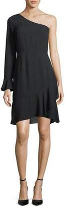LIKELY Remington One-Shoulder A-Line Cocktail Dress