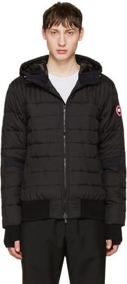 Canada Goose Black Down Cabri Jacket $550 thestylecure.com