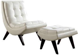 Mercury Row Breit Lounge Chair & Ottoman Set