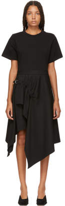 3.1 Phillip Lim Black Handkerchief Dress