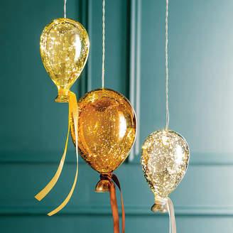 Nest Hanging Mirrored Metallic Balloon Lights