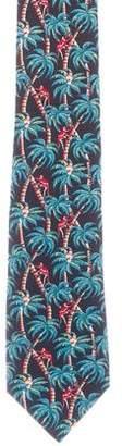 Louis Vuitton Silk Monkeys Tie w/ Tags