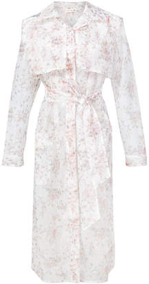 Ulla Johnson floral print long jacket