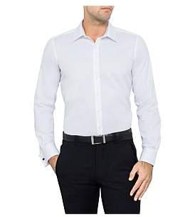 Geoffrey Beene Fine Twill Slim Fit Shirt Double Cuff