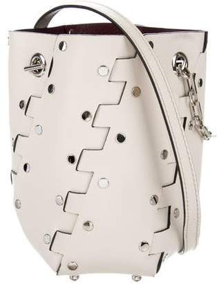Proenza Schouler Mini Hex Studded Bucket Bag