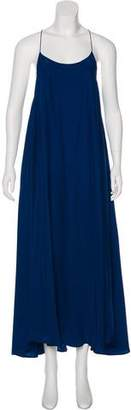 Rhode Resort Silk Maxi Dress w/ Tags