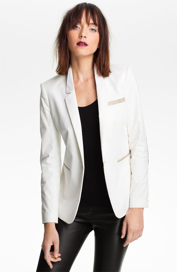 Elizabeth and James 'Sienna' Elbow Patch Blazer