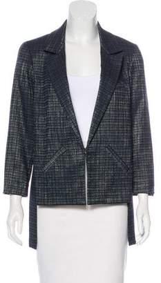 Marissa Webb Asymmetrical Textured Blazer