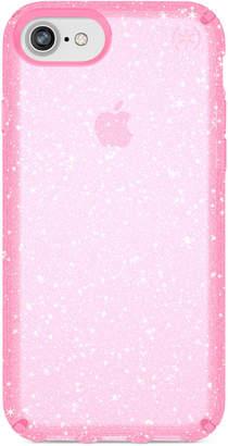 Speck Presidio Clear Glitter iPhone 8 Case