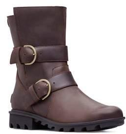 Sorel Phoenix Waterproof Leather Moto Boots
