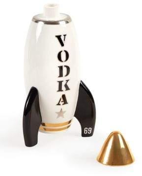 24K Gold Detailed Vodka Rocket Decanter