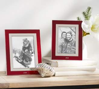 Pottery Barn Dated Enamel Frames