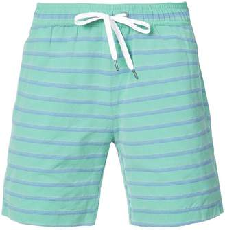 Onia Charles 7 striped swim trunks