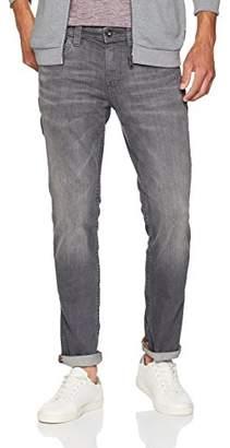 Tom Tailor Men's Vintage Gewaschene Slimfit Jeans Josh Slim (Grey Denim 1058), W33/L34 (Size: 33)