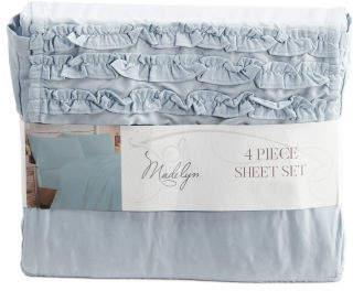 Ruffle Sheet Set