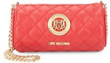 Love MoschinoSuper Quilted Chain Crossbody Bag