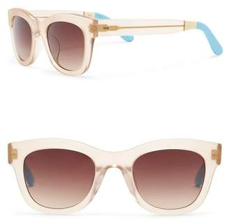 Toms 50mm Chelsea Matte Champagne Sunglasses