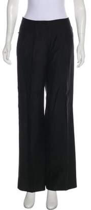Balenciaga Mid-Rise Wide-Leg Pants Black Mid-Rise Wide-Leg Pants
