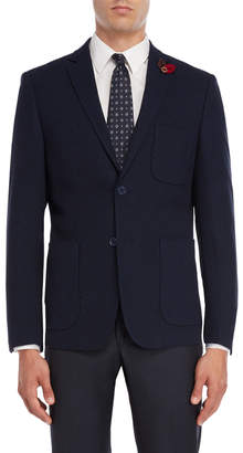 English Laundry Navy Donegal Sport Coat