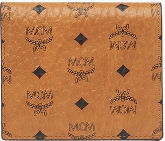 MCM Two Fold Wallet In Visetos Original