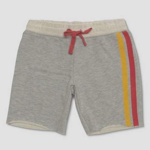 Kids' Wonder Woman Knit Shorts - Gray