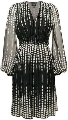 Giambattista Valli short dotted dress