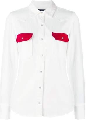 Calvin Klein Jeans Western lean contrast shirt