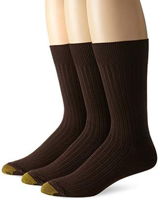 Gold Toe Men's Premium Canterbury Dress Crew Socks