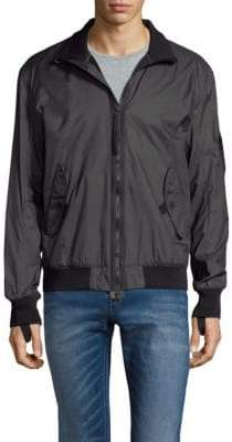 Helmut Lang Rib-Trimmed Jacket