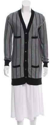 Miu Miu Lightweight Button-Up Cardigan