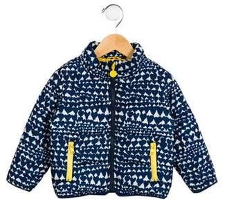 Stella McCartney Girls' Heart Puffer Jacket