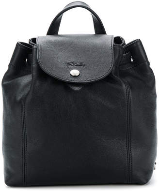 Longchamp small zipped backpack