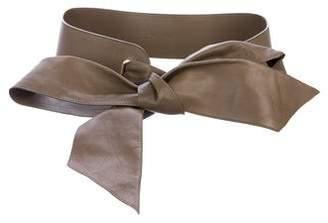 Loro Piana Leather Waist Belt